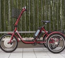 Електрическо задвижване за триколесни велосипеди – индивидуални решения.